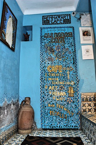 Henna art cafe door | by sandrakaybee