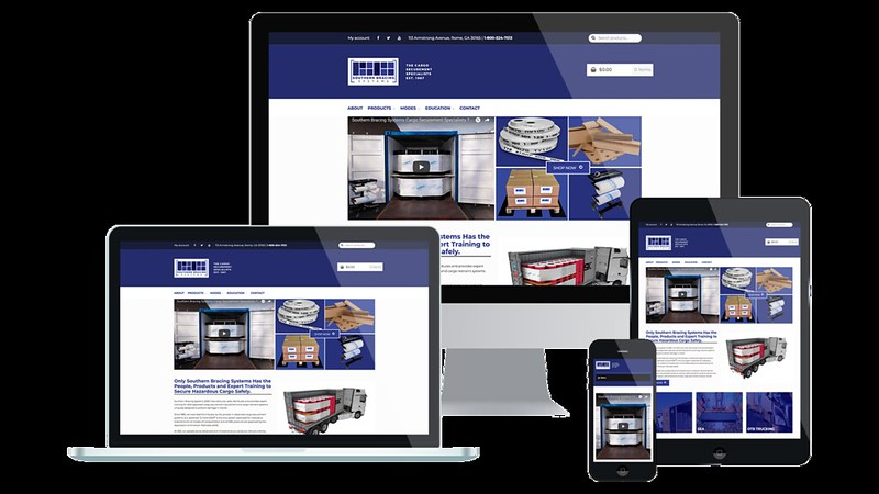 Southern Bracing Systems Web Design