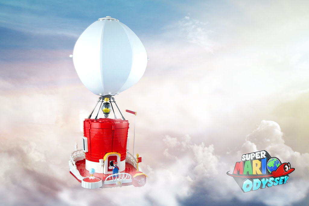 The Odyssey From Super Mario Odyssey Mario S Vessel On His Flickr