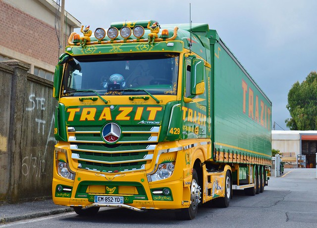 Fr-Trazit Transports-Mercedes Actros Mp4 1854 [Explore]