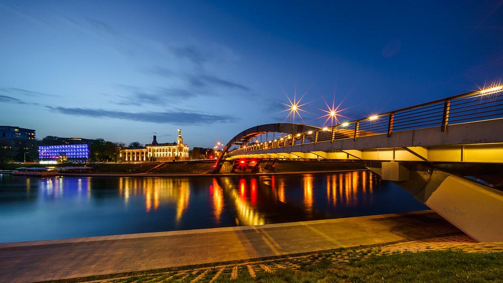 Mindaugas Bridge Vilnius