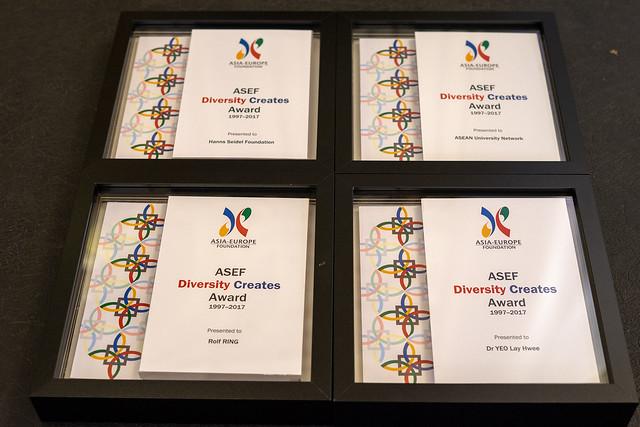 ASEF Diversity Creates Award 1997 - 2017