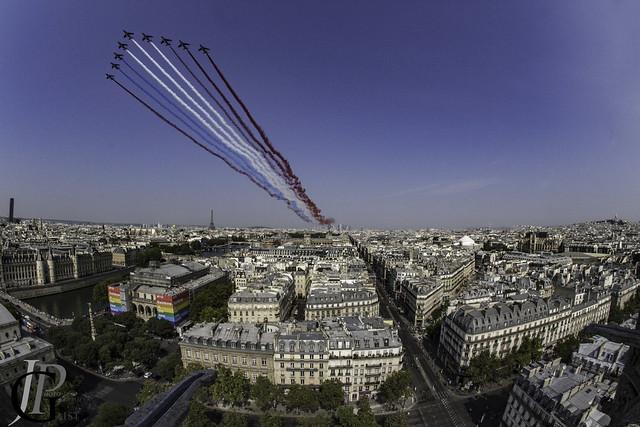 La Patrouille de France pour le défilé du 14 juillet 2018
