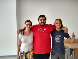 Kat, Benzea and Ismael Olea