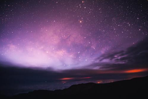 america haleakala haleakalacrater haleakalānationalpark hawaii maui usa unitedstates unitedstatesofamerica stars sunrise volcano kula us fav10 fav25 fav50 fav100