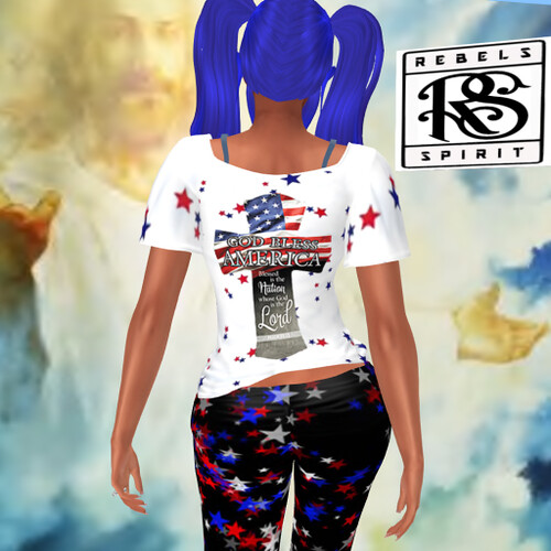 RebelsSpirit_God bless America giftGroup outfit