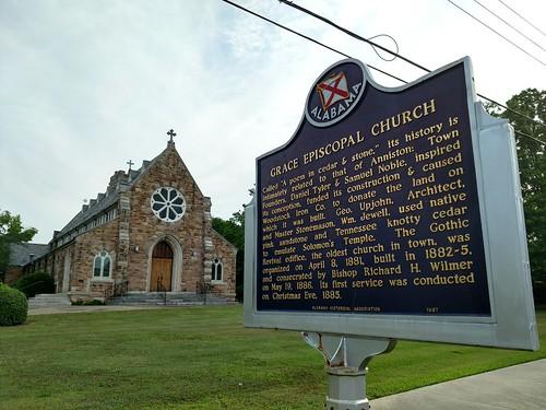 Anniston, Alabama - Grace Episcopal Church Historical Marker | by Darrell Harden