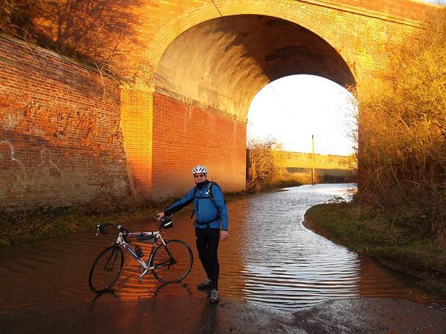Kiplingcotes Railway Bridge Yorkshire Wolds Cycle Route
