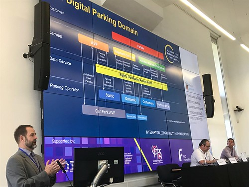 'Parking: Building a uniform global standard for sharing parking data', by Jon Harrod Booth, British Parking Association/Alliance for Parking Data Standards, Chair of BSI ITS Standards Committee, at Digital Transport Exchange 2018 | by teresacjolley1