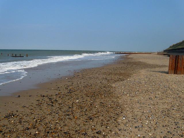 The coast at Eccles-on-Sea