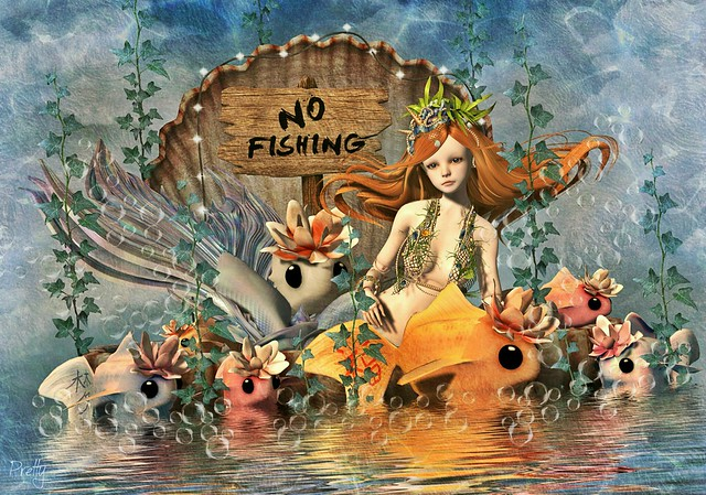 She Is A Mermaid But Approach Her WIth Caution. Her Mind Swims At A Depth Most Would Drown In.