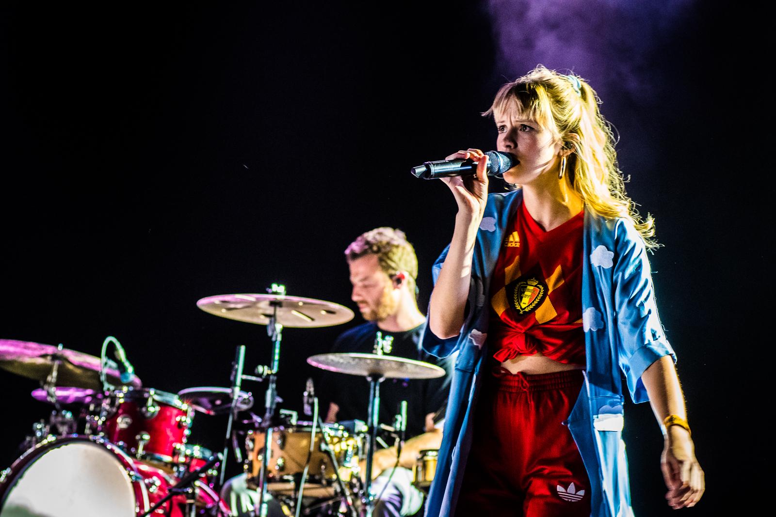 Angèle @ Rock Werchter (© Timmy Haubrechts))