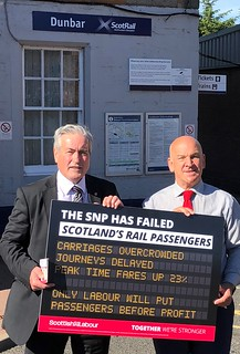 Campaigning with Cllr Norman Hampshire | by Iain Gray MSP