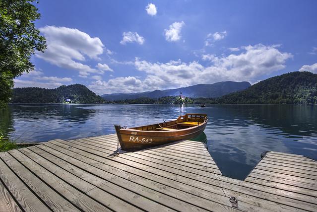 Idyllic view of Lake Bled - Slovenija
