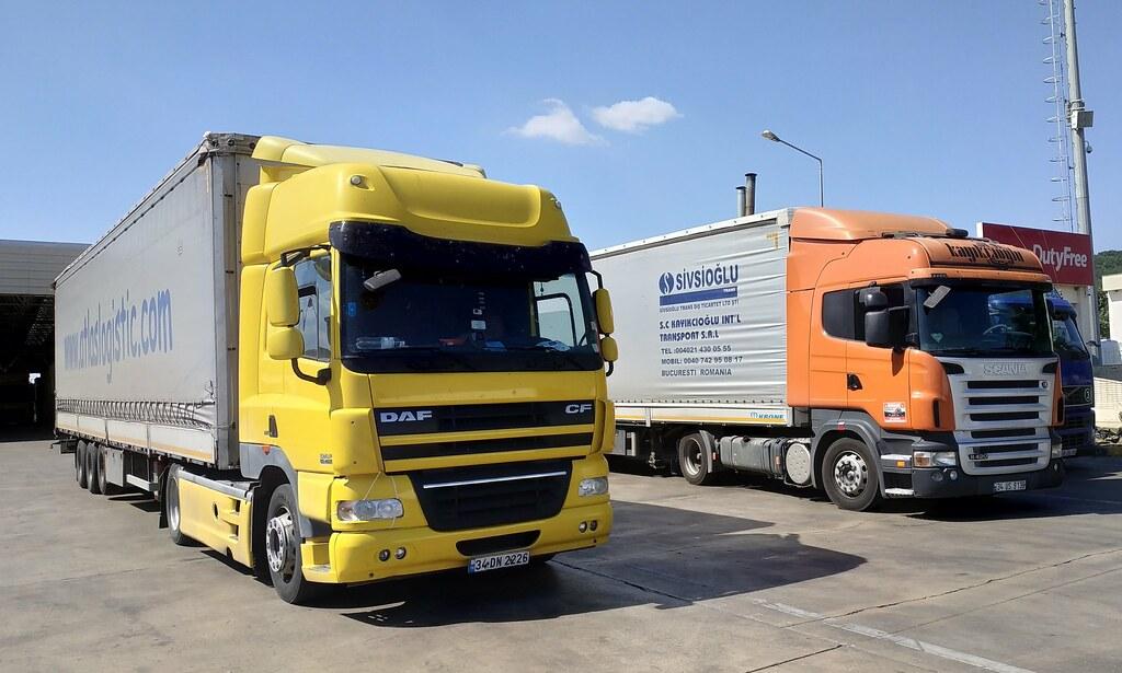 Daf CF 85 460-Scania R420-Atlas Logistics-Kayıkçıoğlu | Flickr