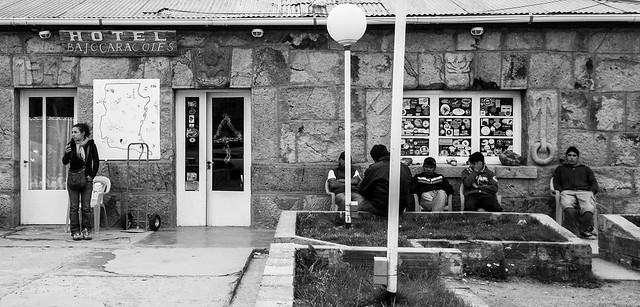 Hotel en Patagonia. Ruta 40
