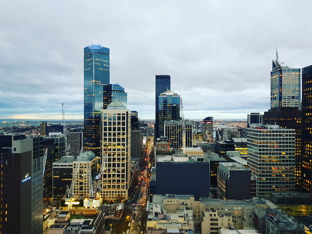 """Photo Competition - photo title """"Pinsent Masons Melbourne - calm before the storm"""""""