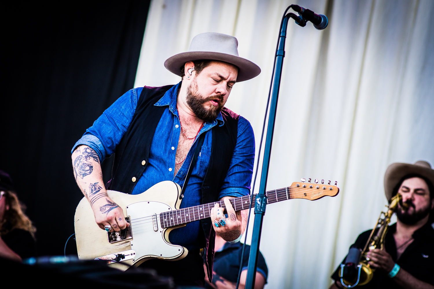Nathaniel Rateliff & The Night Sweats @ TW Classic 2018 (© Timmy Haubrechts)
