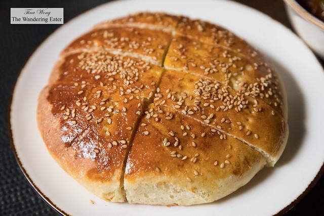 Fresh Khobz bread