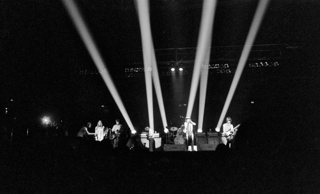Rolling Stones, Philadelphia, 1972 STP Tour  | Band has just