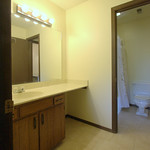 Hall accessible sink area