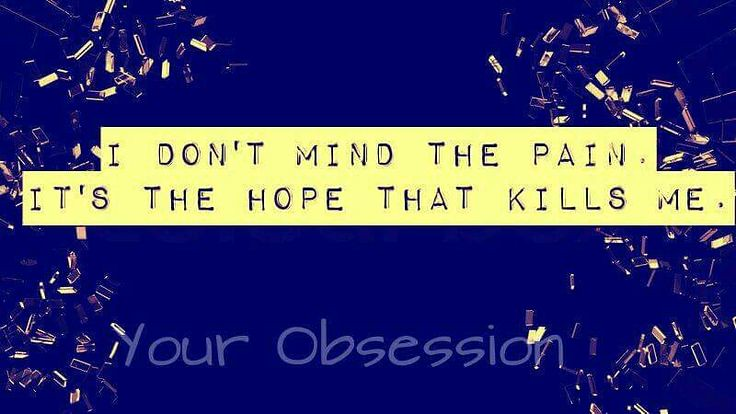 Sad Love Quotes : Hoping from her kills me - #Love | Flickr