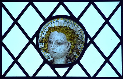 the head of a Norfolk angel