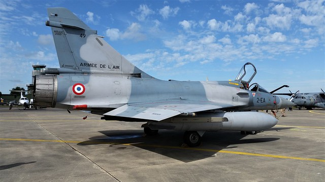 Mirage-2000C 49/2-EA EC-1/2 French Air Force/ Armee de 'l Air. Evreux-Fauville (Meeting). 16 June 2018.