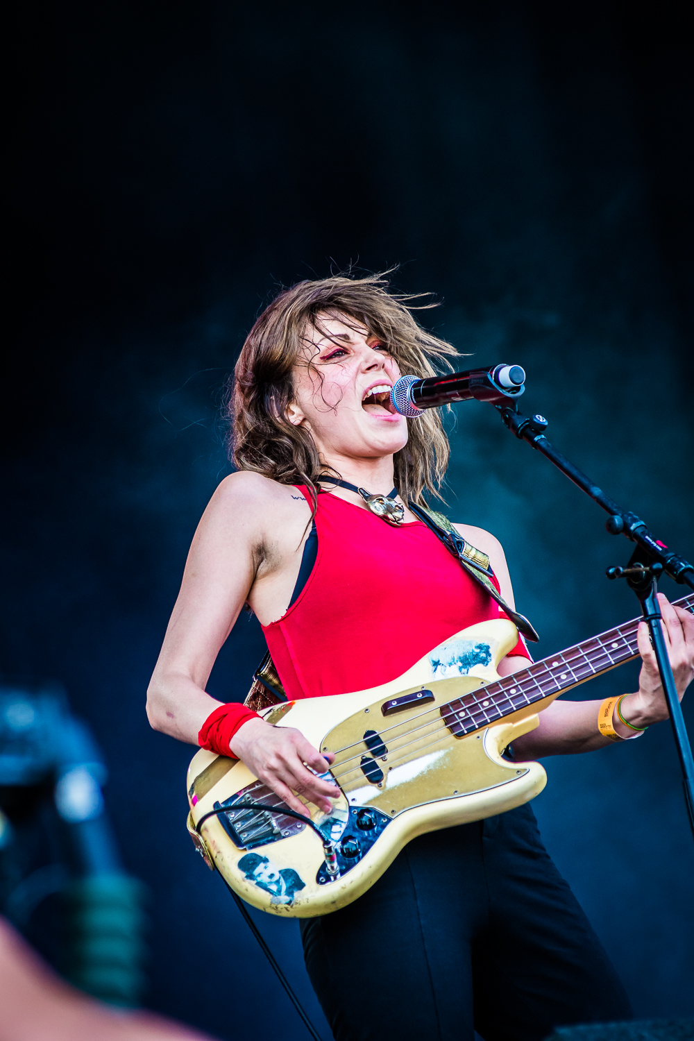 The Last Internationale @ Rock Werchter (© Timmy Haubrechts))