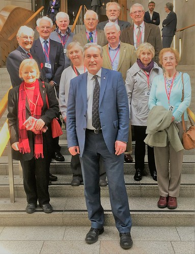 Second group of North Berwick Probus visitors | by Iain Gray MSP