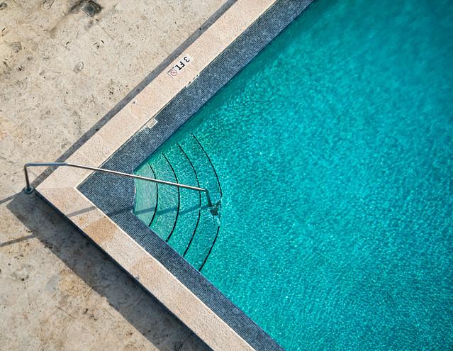 Swimming Pool at the Venetia - Miami, Florida