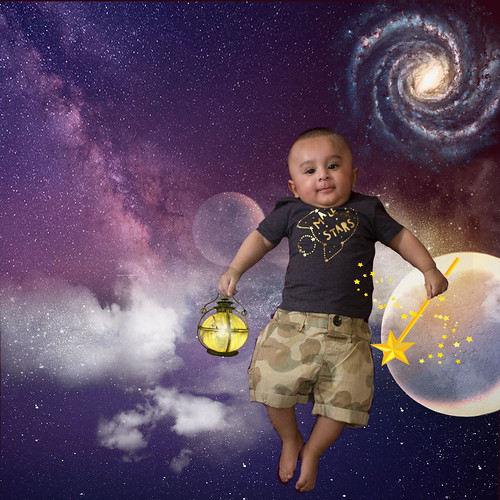 Little one into the Starry Night | by S'amar~ a Rebel