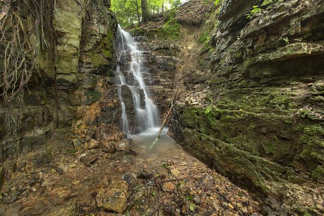 Slot Falls (upper), Dekalb County, Tennessee 3