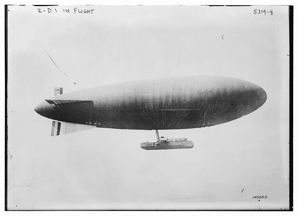 Z-D1 in flight (LOC)