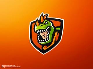 Fortnite Wallpaper Fortnite Rex Mascot Logo By Derrick S