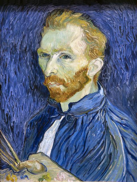 Van Gogh, Self-portrait, 1889
