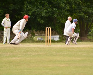 Cricket at Meanwood, Leeds, June 23rd 2018