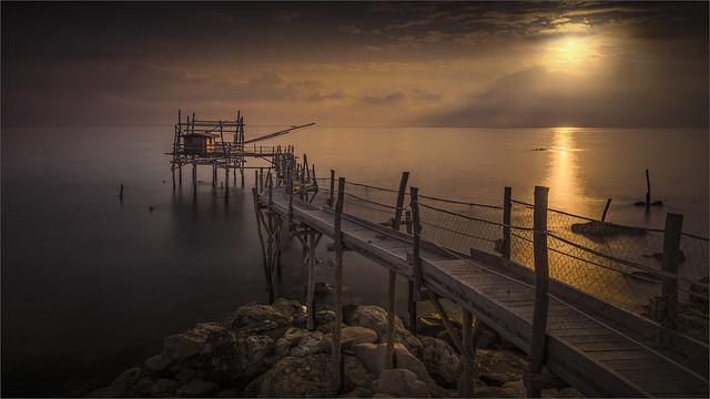 _DSC6912 Prima luce - Alba al Trabocco Turchino - Abruzzo / Italia