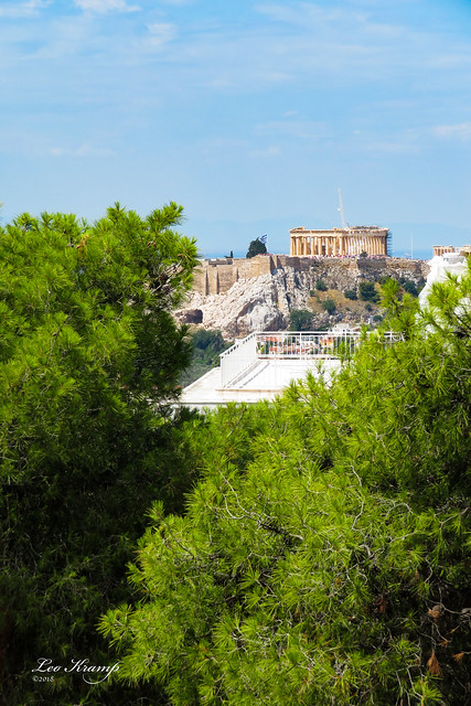 View on the Parthenon
