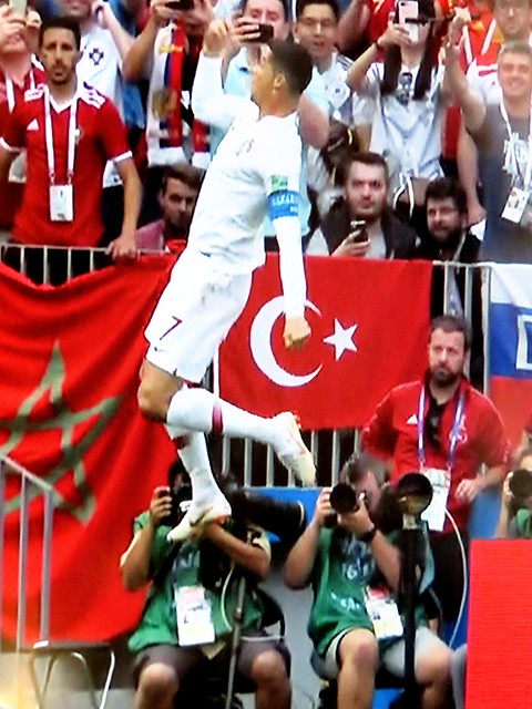 Flying Ronaldo