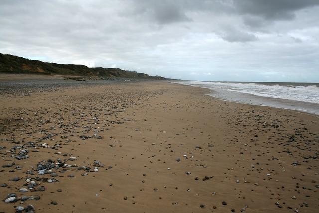 The beach near Caister-on-Sea