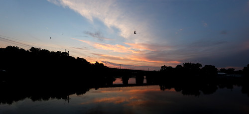 sunset panorama wisconsin janesville canon 7d markii clouds rockriver