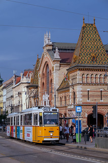 Tram Transport at the Great Market Hall (Nagycsarnok) | by nan palmero