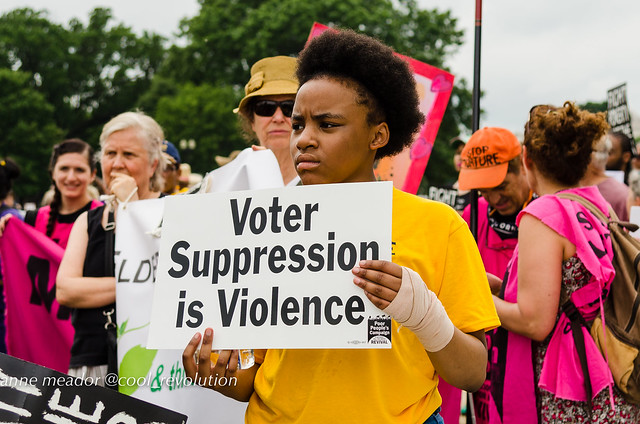 Voter Suppression is Violence