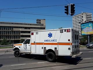 Ford F350 - Fire-Rescue Brigade Belgrade (Former Boston EMS Ambulance) | by МиљковићSRB