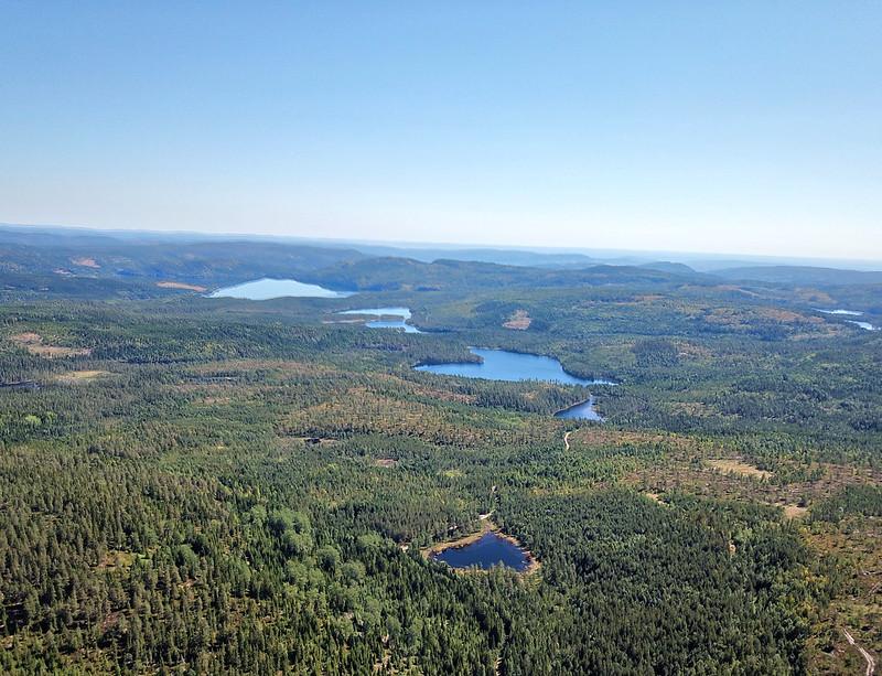 13-Utsikt mot Glitre fra Snaukollen (drone)