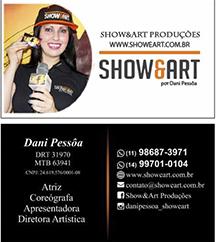 SHOWEART PRODUÇÕES _ DIREÇÃO ARTÍSTICA POR DANI PESSÔA