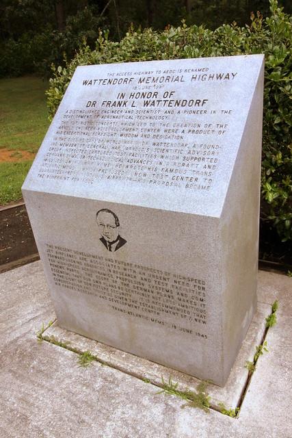 Wattendorf Memorial Highway Monument