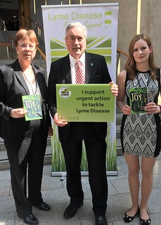 Meeting Lyme disease campaigners | by Iain Gray MSP