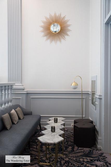 Zoe's Lounge area